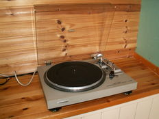 A very good and well-made direct drive turntable: PIONEER PL-518 with EXCEL QD-700C pickup.