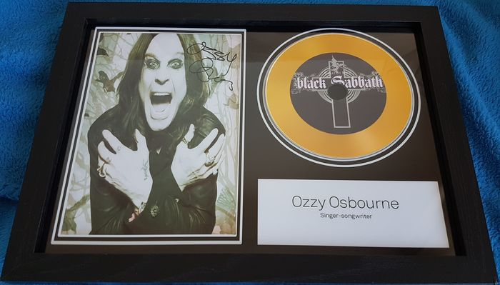 Framed CD - Ozzy Osbourne