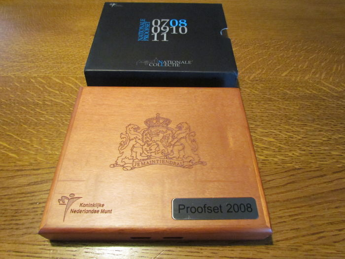 The Netherlands – proof sets 2008 and 2012