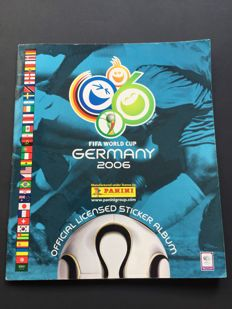 Panini - World Cup 2006 - Edition Western Europe - Complete album.