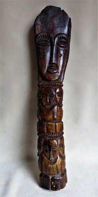 Ancient African carving - Lega - DRC