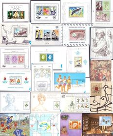 Belgium, 1964-2009, lot with 61 different blocks between OBP BL35 and BL176