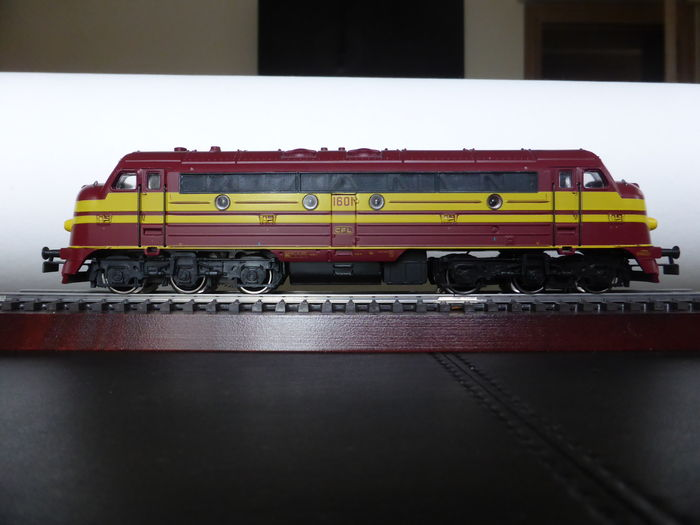 Märklin H0 - 3134 – Diesel locomotive Series 1600 of the CFL (Luxembourg)