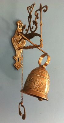 Copper French monastery bell