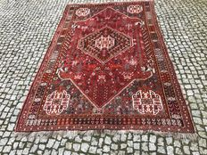 Old Iran Shiraz -hand knotted 270x165 cm
