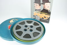 16 mm sound film of Stan Laurel & Oliver Hardy, County Hospital