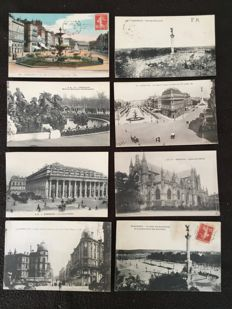 Lot of about 540 postcards, Nantes and surroundings and various France - early 20th century to the 1960s