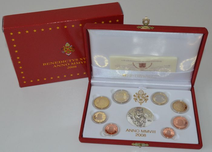 Vatican - year collection from 2008 (Proof) - Benedict XVI