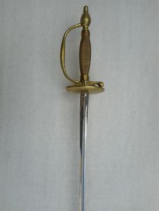 Ceremonial officer's sword - the end of the 19th or 20th century