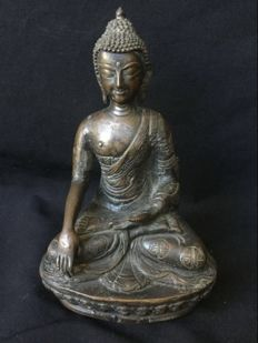 Bronze Buddha - Nepal - 2nd half of the 20th century
