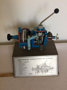 Höhm- demonstration model gearbox Western Germany mid 20th century.