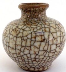 """Ge"" ware water pot - China - 16/17th Century"