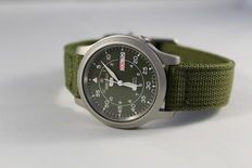 Seiko 5 - Men's Military Style Automatic Watch - 2017 - in new condition