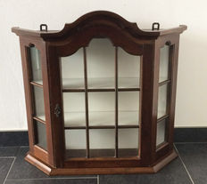 Hanging display cabinet, The Netherlands, mid 20th century