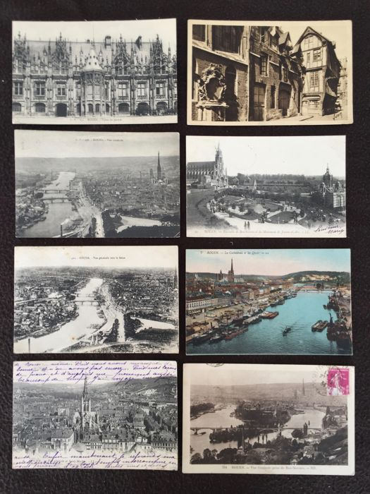 Lot of about 830 postcards, various France - early 20th century to the 1960s