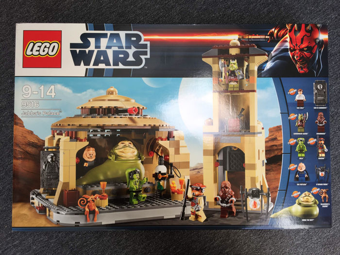 Star Wars - 9516 - Jabba's Palace, used for sale  London