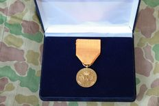Rare Gold Medal of House order of merit