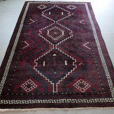 Unique dark Persian Luri/Lori rug - 259 x 174 - very good condition