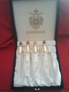 Fabergé cheese knives, rarely offered