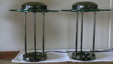 2 identical design table lamps SMC