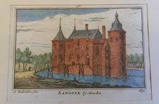 Holland, Brabant, Utrecht, Gelderland - A. Rademaker, 27 copper engravings of country houses and others - ca. 1725