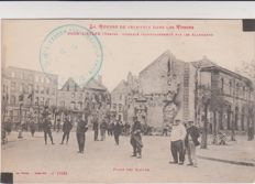 very good lot of 76 old postcards 14/18 war bombing by the Germans