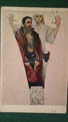 ALFONS MUCHA.    PRAAG 1860.....1939 TCHECOSLOVAQUESE PERIODE
