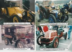 Lot of 200 photos of vintage cars from 1920's to 1990's