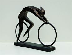 Striking Sculpture - The Cyclist