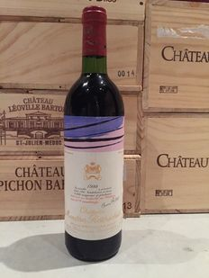 1980 Chateau Mouton Rothschild, Premier Cru Classe – 1 bottle (75cl)