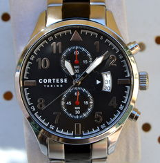 CORTESE TORINO Reale C 10002 Chronograph – Men's watch with two-tone bracelet – 2017 – Never worn