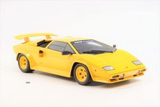 "GT-Spirit - Scale 1/18 - Koenig Countach Twin Turbo 1983 - Yellow ""Asia Special Edition"" Limited edition 1 of the 504 pieces"