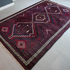 Unique dark Persian Luri/Lori rug, 259 cm x 174 cm, very good condition