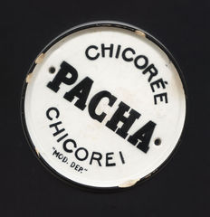 Chicorée Pacha - Table mat or sign - 1950s