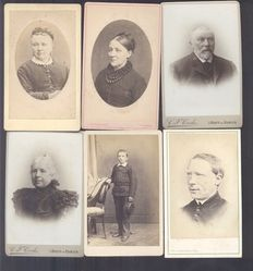 Portrait photographs from the Netherlands - 18 x - 1880/1910