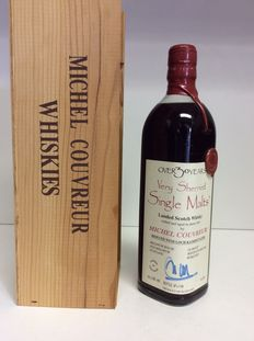 Over 30 Years Old Michel Couvreur Very Sherried Single Malt Whisky -  Scotland , 1 bottle 45% Vol 0,7L