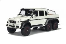 GT-Spirit - Mercedes-Benz G 63 AMG 6X6 - white