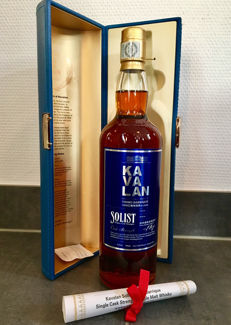 Kavalan Solist Vinho Barrique Single Cask Strength - 56.3 %