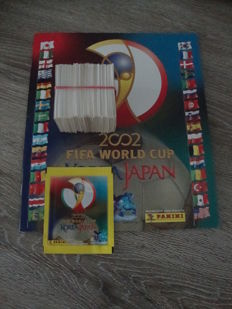 Panini - World Cup 2002 - Empty album + 300 stickers + pack.