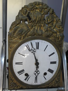 Wall clock – Morez – France – 1870