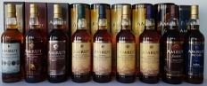 9 bottles  - Amrut Raj Igala + Fusion + Indian Single Malt + Peated Indian Single Malt Cask Strenght + Indian Single Malt Cask Strenght + Peated Indian Single Malt + Portonova + Intermediate Sherry + Kadhambam