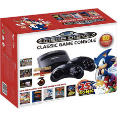 Sega Mega Drive Retro Classic Game Console with 80 classic games included