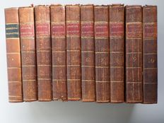Sporting Magazine - Lot with the first 10 volumes - 1793/1797