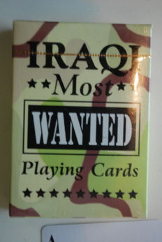 Iraqi Most Wanted card game