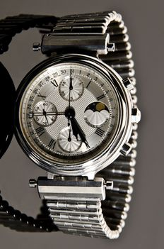 Forget Series A – Moonphase Chronograph - Men's watch