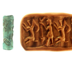 Cylinder seal from glass, hunter & gazelle/ ibex - height - 22.4mm