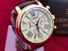 Thomas Earnshaw Longcase 43 Chronograph – Men's wristwatch  – Never worn, new condition.
