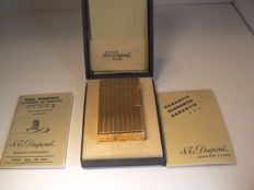 Dupont lighter 20µ gold-plated; line 1 large model