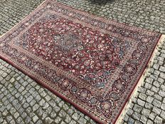 Original Iran Persia Kachan hand knotted 230x135 cm TOP CONDITION