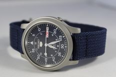 Seiko 5 Military - Men's wristwatch - 2017,  in new condition